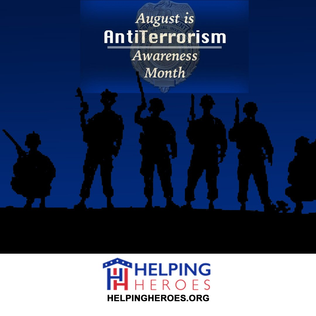 You are currently viewing Antiterrorism Awareness Month