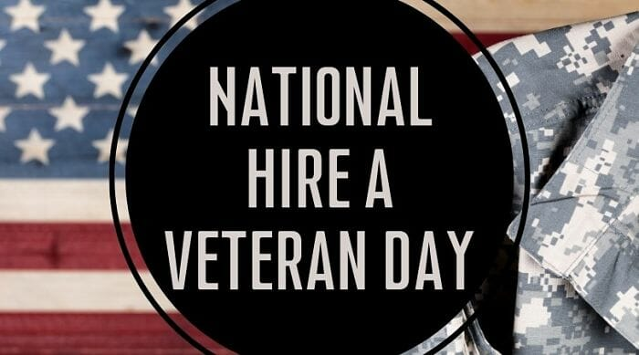 Read more about the article National Hire A Veteran Day
