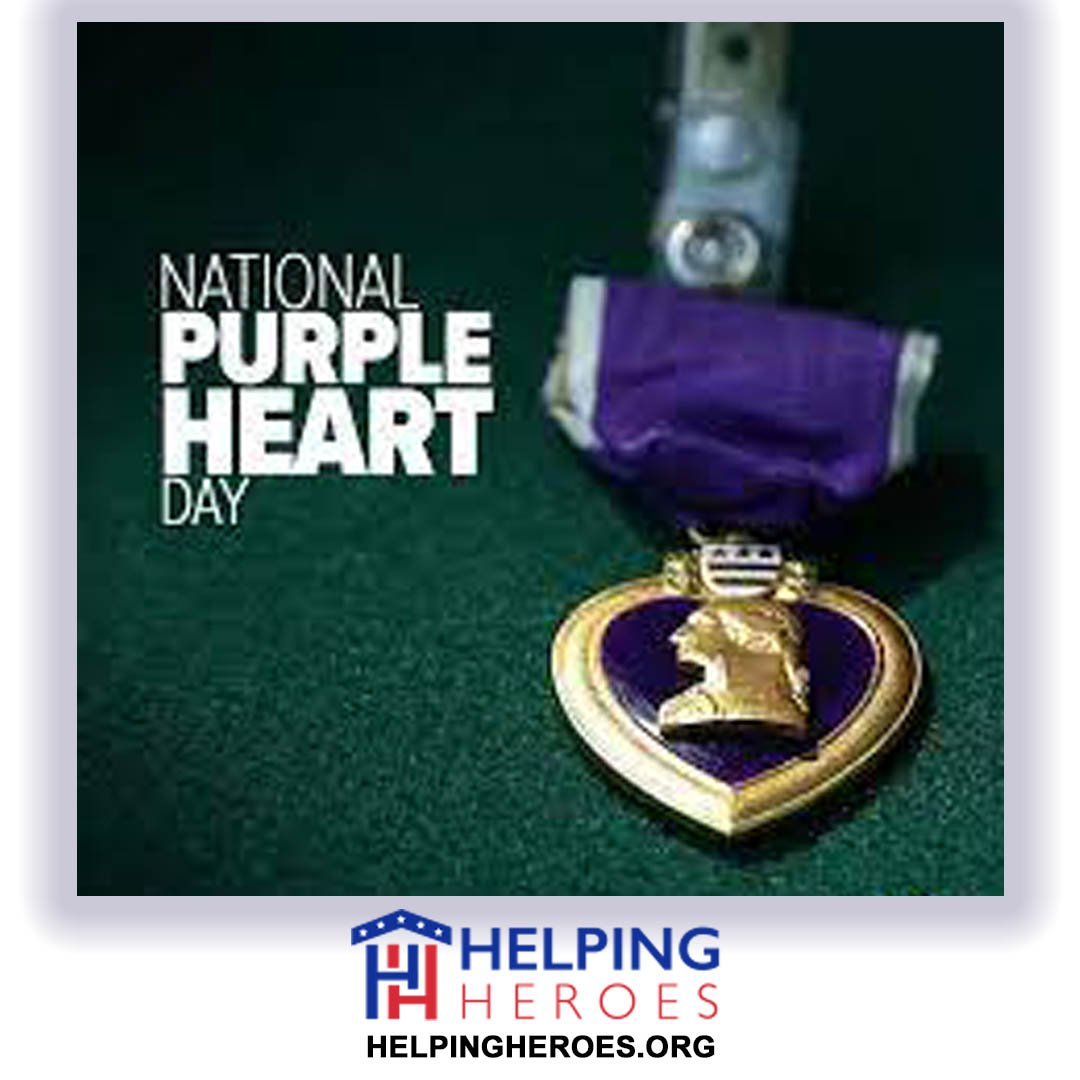 You are currently viewing National Purple Heart Day