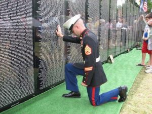 Read more about the article The Vietnam Veterans Memorial Replica Wall