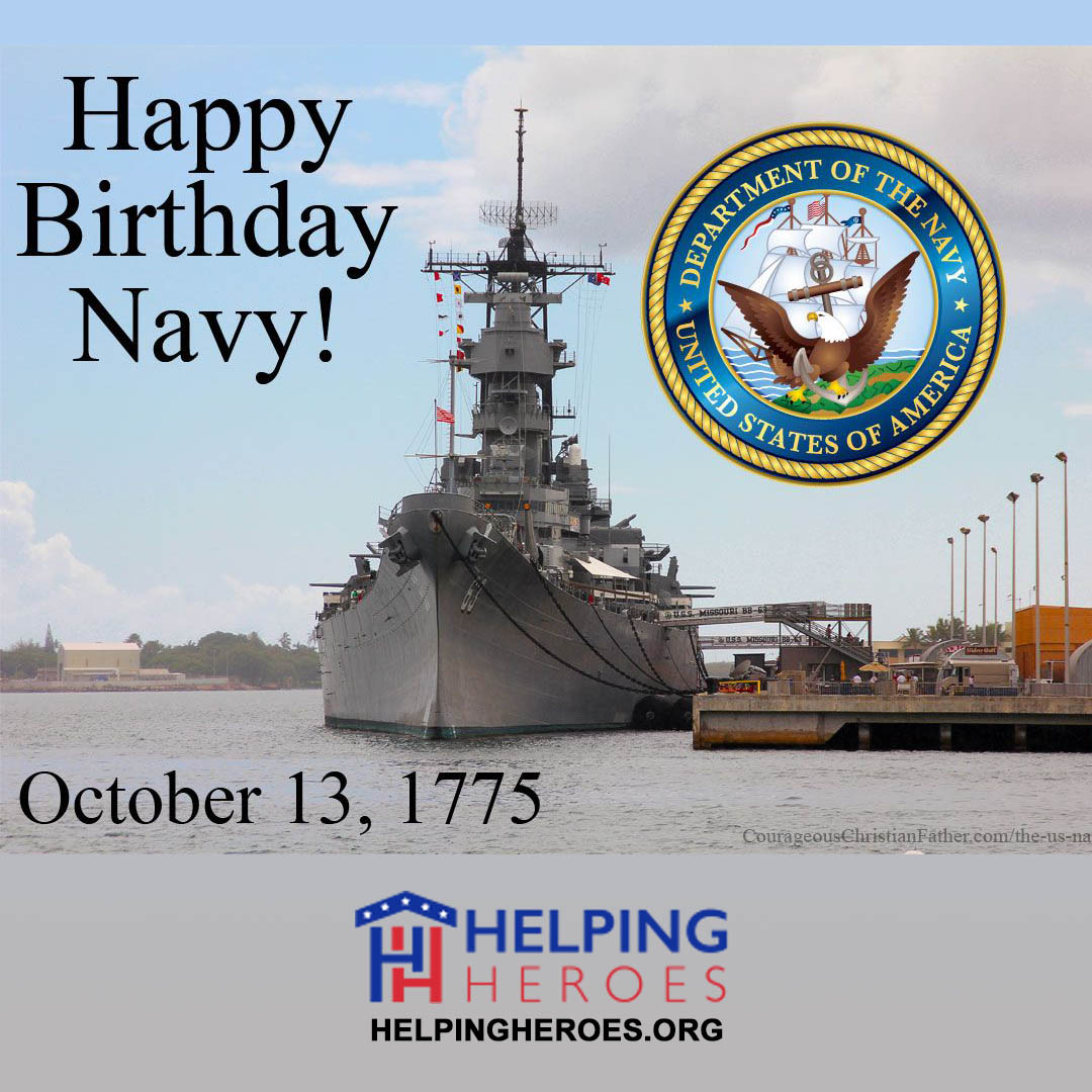 You are currently viewing U.S. Navy Birthday